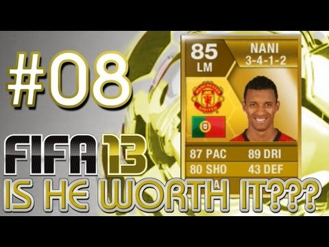 FIFA 13 Ultimate Team Player Review - Is He Worth It -NANI - EP 8