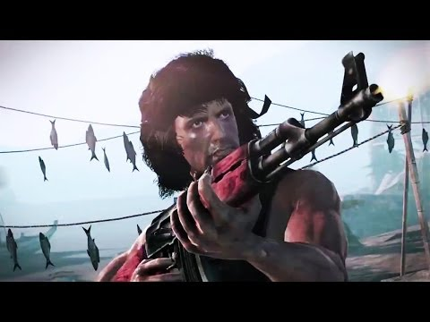 Rambo The Video Game Machine Of War Trailer video
