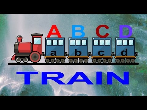 Abcd Train- Beautiful Nursery Song With 3d Animation. video