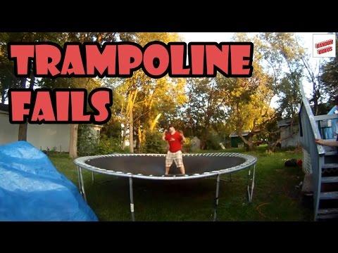 Trampoline Fails Compilation