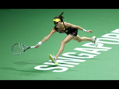 Agnieszka Radwanska vs Petra Kvitova | 2014 WTA Finals Highlights
