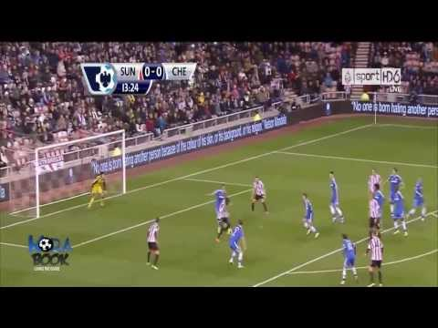 Match Day 14: Sunderland A.F.C. (3) vs (4) Chelsea F.C (All Goals & Highlights EPL 4 Dec 2013)