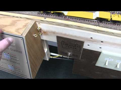 Model Railroad Layout Update Video 26 - Control Panels. Turnout Control. Wiring