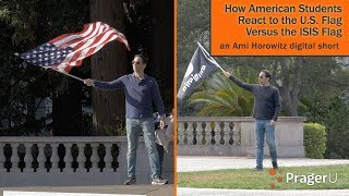 How American Students React to the U.S. Flag Versus the ISIS Flag