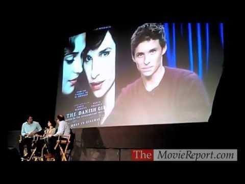 Eddie Redmayne & Tom Hooper talk THE DANISH GIRL, November 14, 2015
