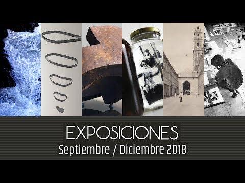 Video Ciclo de exposiciones Septiembre-Diciembre 2018