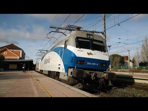 Día de trenes en Alcázar de San Juan
