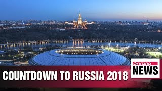50 days to go until Russia 2018 soccer World Cup