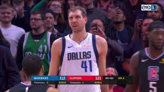 Doc Rivers stops game so Los Angeles Clippers fans can show respect to Dirk Nowitzki