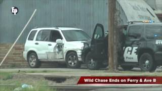 Persecucion Eagle Pass, Texas