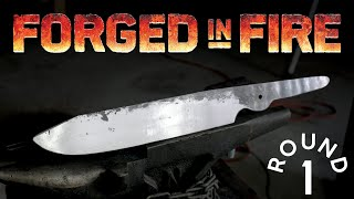 FORGED IN FIRE CHALLENGE! - Round 1