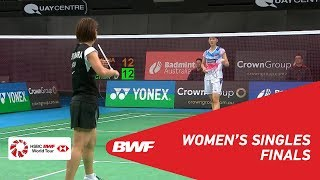 F | WS | Nozomi OKUHARA (JPN) [1] vs. CHEN Yufei (CHN) [2] | BWF 2019