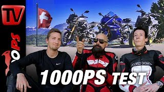 1000PS Test - Yamaha YZF-R6 vs Yamaha MT-10 SP vs Yamaha MT-09