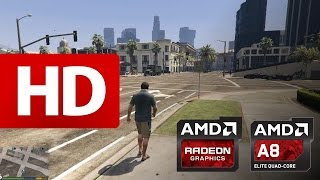 Grand Theft Auto 5 - on G405s [ A8-5550M & HD 8550G + HD 8570M ]