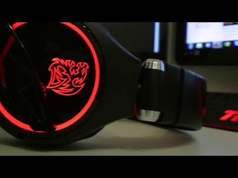 Tt eSPORTS CRONOS HEADSET UNBOXING + REVIEW