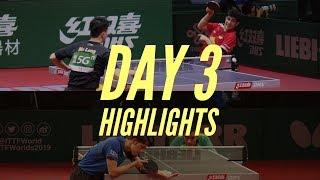 Calderano Ma Long Harimoto Boll | 2019 World Table Tennis Championships