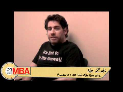 30 Second MBA: Nir Zuk - How do you execute a decision you don t agree with?
