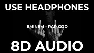 Eminem - Rap God (8D Audio)