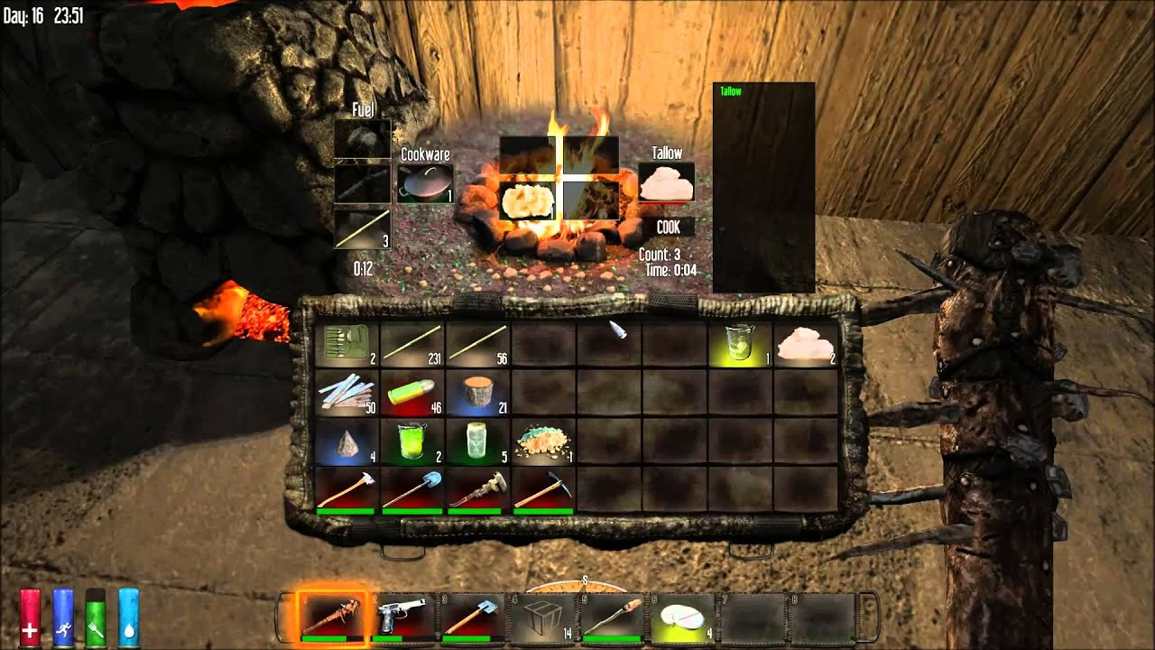 how to make iron in 7 days to die
