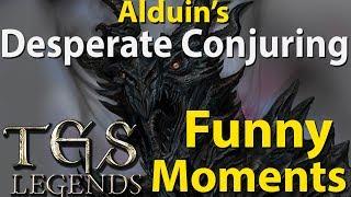 Alduin's Desperate Conjuring  Funny Moments The Elder Scrolls: Legends OTK