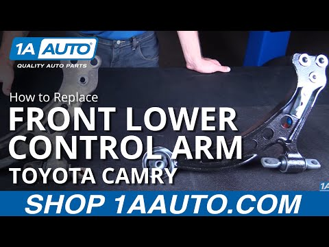 How to Replace Front Lower Control Arm 92-01 Toyota Camry