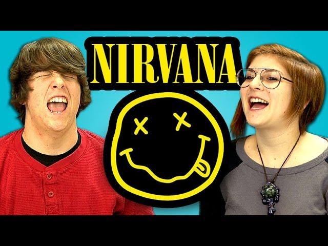 Play this video TEENS REACT TO NIRVANA