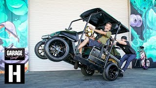 Introducing the Hoonigan Player Special - 2 Stroke 750cc Golf Cart
