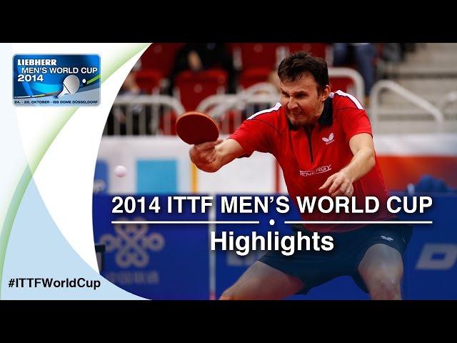 2014 Men's World Cup Highlights: CRISAN (ROU) vs JHA (USA) - (Qual Groups)