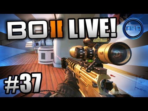 """THEY WANT ME FOR DINNER!"" - BO2 LIVE w/ Ali-A #37 - (Call of Duty: Bl..."