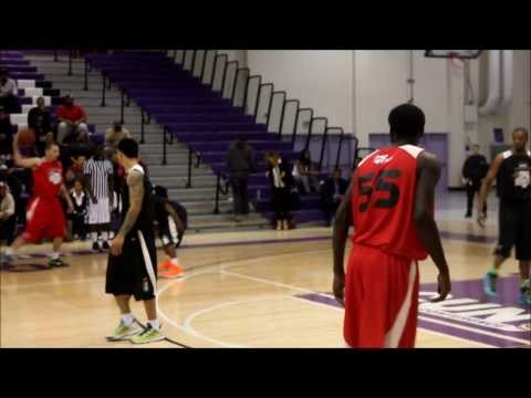 Terrell Owens vs Dez Bryant Basketball Game Amina Buddafly, Joe Budden, Streetballers & Jae Ellis