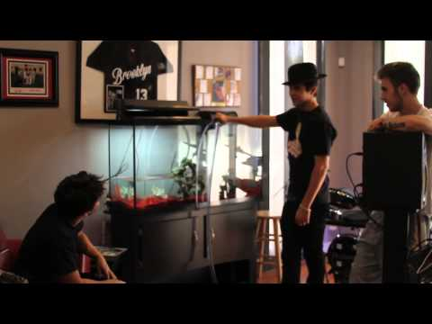Fishy Business: Austin Buys A Fish Tank For His New House video