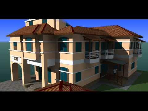 Ubahsuai Rumah - Gambaran 3D ke-2 Rumah Semidi 2 Tkt