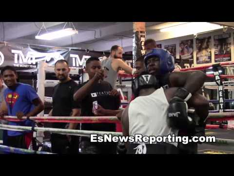 sparring till someone gets dropped mayweather boxing club - EsNews Image 1