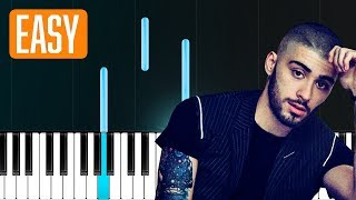 "Download Lagu Zayn - ""Let Me"" 100% EASY PIANO TUTORIAL Gratis STAFABAND"