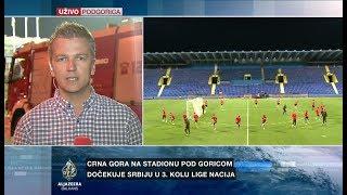 Delić o atmosferi pred dvoboj Crne Gore i Srbije