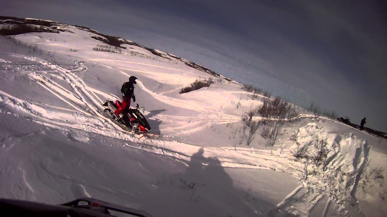 2013 Polaris Indy 600 SP and 2013 Skidoo Backcountry 800 E ...