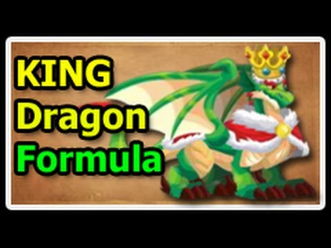 KING DRAGON Deus Vault FORMULA in Dragon City