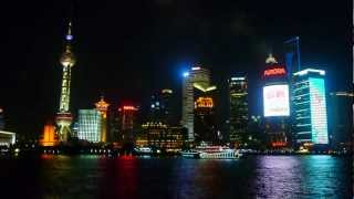 Shanghai 3. Enchanting spectacle of night. (Шанхай)