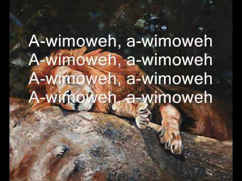 The Lion Sleeps Tonight - The Tokens (With On Screen Lyrics)