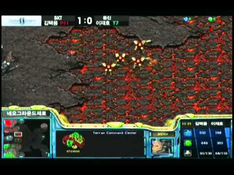 SPL [5.29] Bisu (SKT) vs Light (Woongjin) 1st half - 2set / Neo Ground Zero