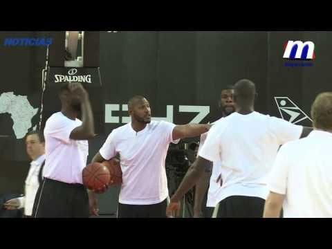 África tendrá su primer partido de NBA