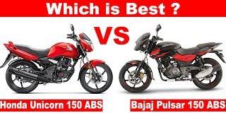 2019 Bajaj Pulsar 150 UG5 ABS VS 2019 Honda Unicorn 150 ABS 🔥Aayush ssm
