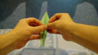 Close Up Frog (origami) Paper Folding