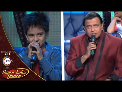Did Lil Masters 3 Behind The Scenes: Mithun Da Punishes Sachin video