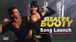 'Beat Pe Booty' Song Launch | Tiger Shroff  And Jacqueline Show Sexy Moves | A Flying Jatt