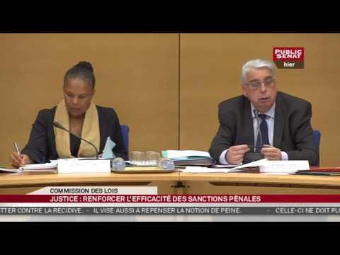Christiane Taubira sur le projet de loi prévention de la récidive et individualisation de la peine