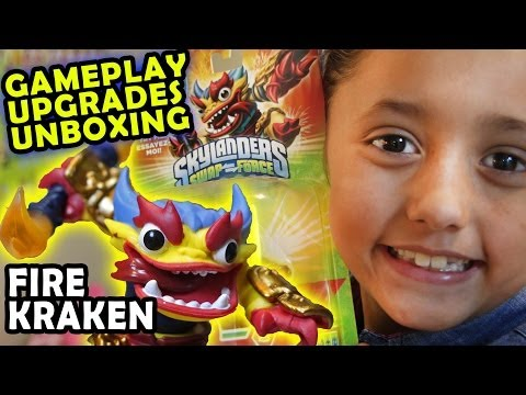 Fire Kraken Arena Battle Gameplay (Unboxing and Review of Skylanders Swap Force) We Want Jade!