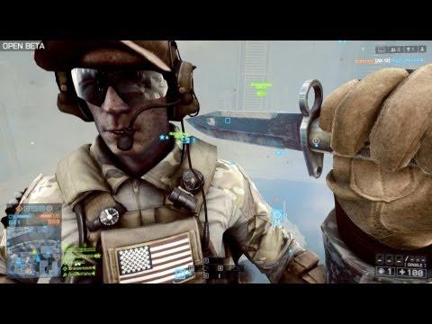 Battlefield 4 Knife Montage : Knife Counter . Knife Rejection. Knife Animations