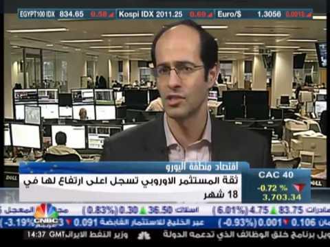 أشرف العايدي على سي ان بي سي عربية -- 7  يناير2013 Chart