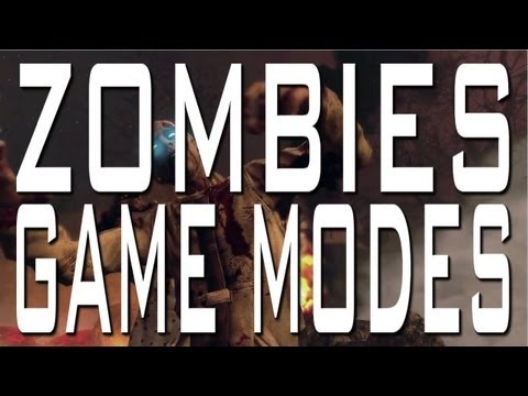 Black Ops 2 - Zombies Game Modes: Tranzit. Survival. and Grief 4v4 (BO2 Zombie Game Types Gameplay)